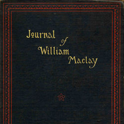 Book Jacket of Journal of William Maclay