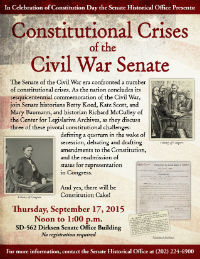 Senate Constitution Day Flyer, 2015