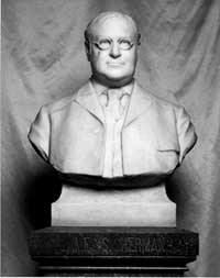 1965 image of the James S. Sherman bust