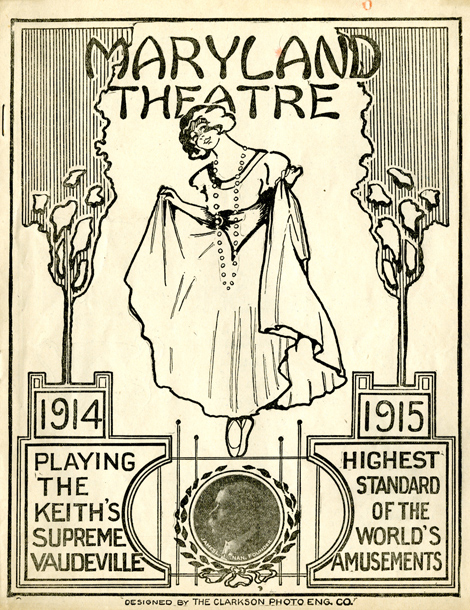 Image: Maryland Theatre Program