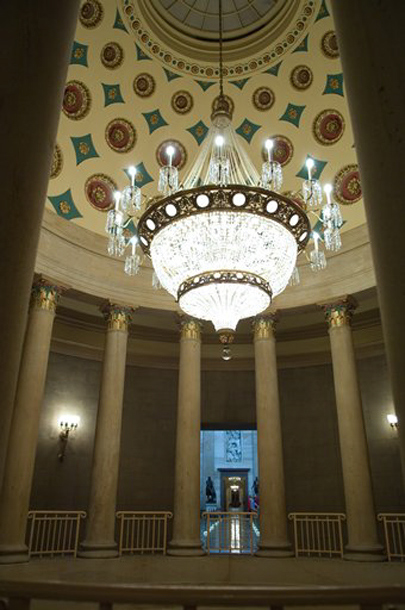 Image: Chandelier in the Senate Rotunda