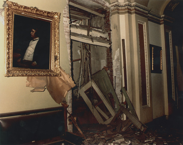 Image: Damage from 1983 Bomb Explosion