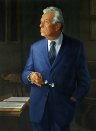 Everett McKinley Dirksen by Richard Hood Harryman
