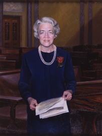 Margaret Chase Smith by Ronald Frontin