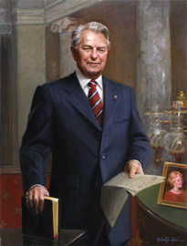 Robert C. Byrd by Michael Shane Neal