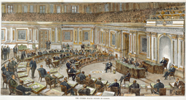 The United States Senate in Session