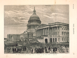 The Second Inauguration of General Grant as President of the United States at Washington