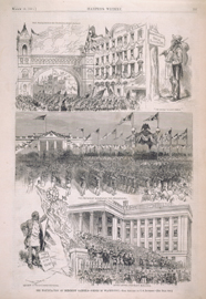 The Inauguration of President Garfield—Scenes in Washington.