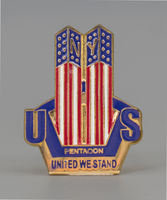 Commemorative 9/11 Pin, 2005 Inauguration Ceremonies