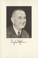 Image of the Vice President from the invitation for the 1961 Presidential Inauguration.