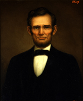 Abraham Lincoln by Freeman Thorp