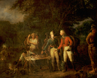General Marion Inviting a British Officer to Share His Meal