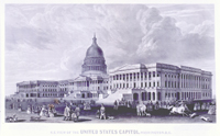 n.e.view of the United States Capitol, washington.d.c.