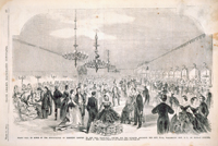 Grand Ball in Honor of the Inauguration of President Lincoln, in the hall especially Erected for the Occasion Adjoining the City Hall, Washington City, D. C., on Monday Evening, March 4, 1861