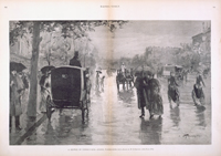 A Shower on Pennsylvania Avenue, Washington, D.C.
