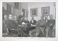 President McKinley and His Cabinet.