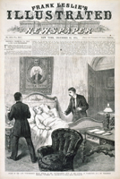 Death of the Late Vice-President Henry Wilson, in the Vice-President's Room, at the Capitol, in Washington, D.C., on Wednesday Morning, November 22d.