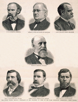 The United States Senate.—Portraits of the Chairmen of Some of the More Important Committees.