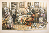 The Old Granny Tea-Party.—Rocking-Chair Candidates for 1888.
