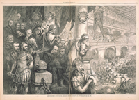 Amphitheatrum Johnsonianum—Massacre of the Innocents at New Orleans, July 30, 1866.
