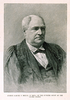 Justice Samuel F. Miller, of Iowa, of the Supreme Court of the United States.