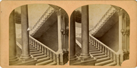 Image: [Marble Staircase. Capitol. Washington] (Cat. no. 38.01072.001)