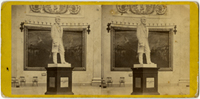 Image: Statue of A. Lincoln in the Rotunda of the Capitol.(Cat. no. 38.01136.001)