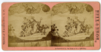 Image: Brumidis Allegorical Paintings, in the Dome, of the U.S. Capitol.(Cat. no. 38.01137.001)