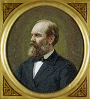 James A. Garfield by Antonio Salviati