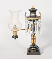 Image: Lamp, Single-Arm Argand (Cat. no. 52.00012.001)