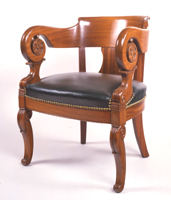 Russell Senate Office Building Round Arm Chair