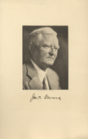Image of the Vice President from the invitation for the 1937 Presidential Inauguration.