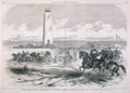 United States Artillery Drilling Near the Washington Monument, Washington, D.C.