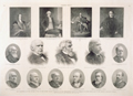 The Centennial of the Supreme Court of the United States—Portraits of the Chief-Justices from the Formation of the Court, and of the Present Associate Justices.