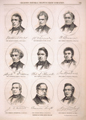 Portraits of United States Senators.