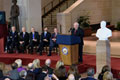 Image: Unveiling Ceremony for Vice President Richard Cheney's marble bust