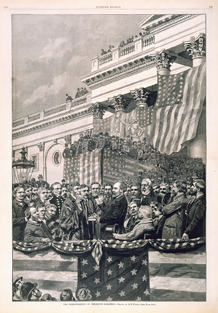 The Inauguration of President Garfield.