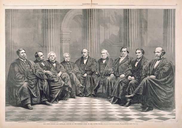 The Chief Justice and Associate Justices of the Supreme Court of the United States.