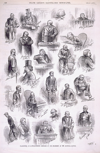 Washington, D.C.—Characteristic Sketches of Our Statesmen at the National—Capital