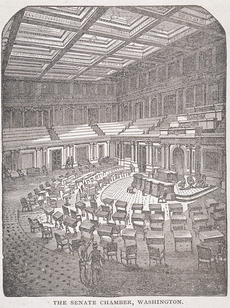 The Senate Chamber, Washington.