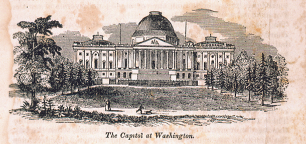 The Capitol at Washington.