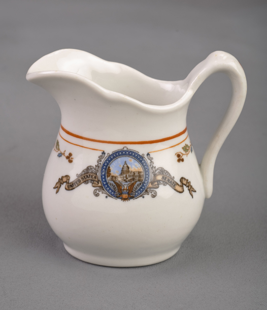 Image: Restaurantware Cream Pitcher, United States Senate (Cat. no. 46.00043)