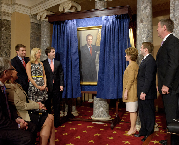 Senator Frist Portrait Unveiling Event Photo