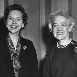 Senators Maurine Neuberger and Margaret Chase Smith, January 5, 1961