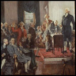 Signing of the US Constitution