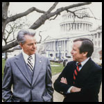 Senators Robert Byrd and Howard Baker