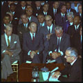 Image: Signing of the 1964 Civil Rights Act