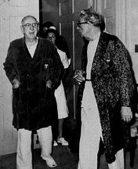 Richard Russell & Everett Dirksen in Hospital