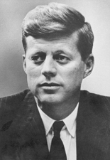 Photo of Senator John F. Kennedy of Massachusetts