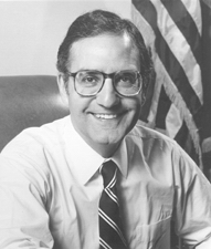 Photo of Senator George Mitchell of Maine